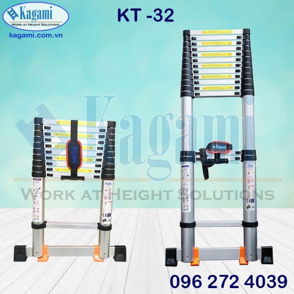 Thang Nhôm Rút Gọn Đơn 3.2m Kagami KT -32 giá tốt giao nhanh